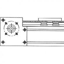 Instrukcja montażu dla prowadnic pod silnik