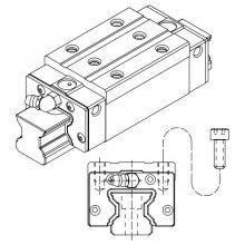 Prowadnice liniowe rolkowe z łańcuchem PMI, seria SMR, typ SMR-S / SMR-LS
