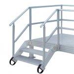 Profile aluminiowe do podestów, platform i schodów