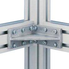 Wsporniki kątowe do serii 60 profili aluminiowych