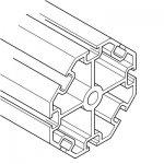 Profile aluminiowe, Seria 25