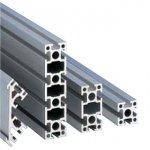 Profile aluminiowe, Seria 25, profile standardowe
